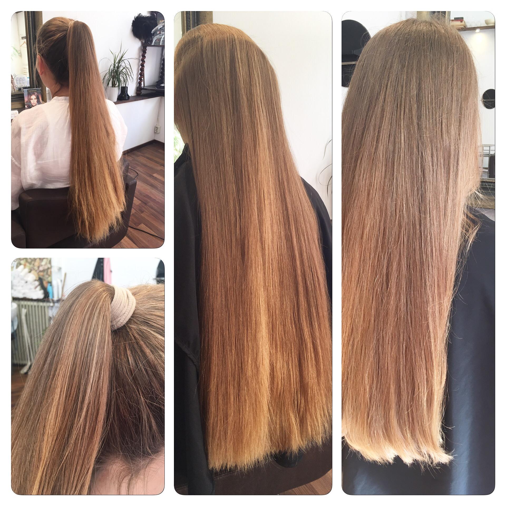 odla långt hår
